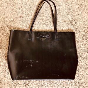 Kate spade tote purse black